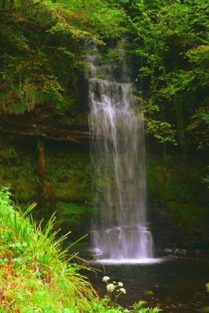 waterfall_at_lough_clencar_-_geograph-org-uk_-_1152543